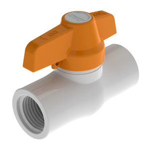 Válvula de Bola en PVC Aplicaciones Tipo Liviano Soldar
