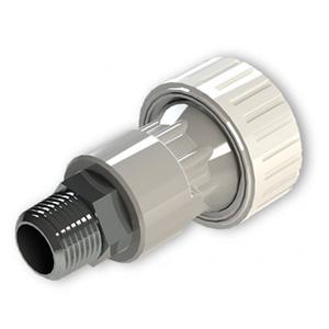 Conector en PVC con Inserto Metálico