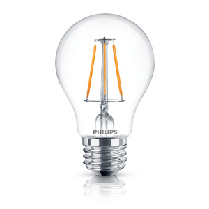 Led Filament 4 40w A19 827 No Dim